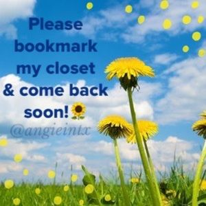 Please Bookmark My Closet & Come Back Soon!
